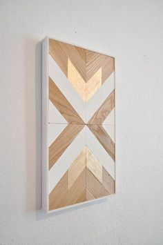 Plans of Woodworking Diy Projects - Wood chevron decor Get A Lifetime Of Project Ideas & Inspiration! Diy Wood Wall, Wooden Wall Art, Diy Wall Art, Wall Decor, Chevron Wall Art, Blue Chevron, Woodworking Logo, Woodworking For Kids, Woodworking Plans