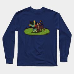 Luxio And Litleo Long Sleeve T-Shirt