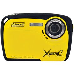 Coleman 16.0 Megapixel Xtreme2 Hd Waterproof Digital Camera (yellow)  Read full technical specifications and see more photos on http://techspecifications.net