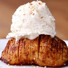 Maple Hasselback Apple Recipe by Tasty