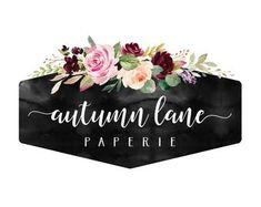 Logo Design & Websites for Female Entrepreneurs by AutumnLanePaperie Custom Website Design, Custom Logo Design, Business Logo, Business Card Design, Logo Branding, Logos, Rustic Logo, Website Logo, Watercolor Logo