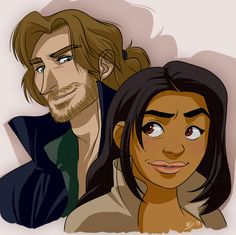 Ichabod and Abbie by Eji.deviantart.com on @deviantART