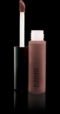 M.A.C. Tinted Lipglass in Shock-o-late. My fav!