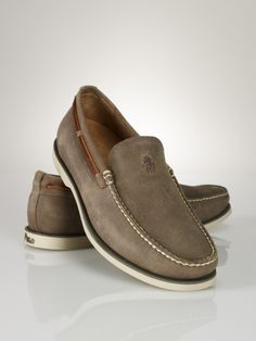 Blackley Slip-On Boat Shoe - Polo Ralph Lauren Casual - RalphLauren.com