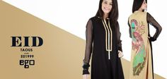 Summer Wear Long Shirts For This Eid By Ego From 2014