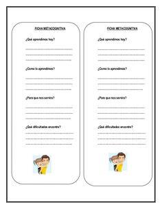 Resultado de imagen para preguntas de metacognición niños