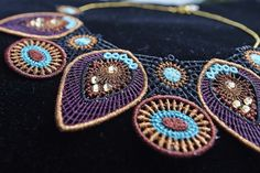 Create beautiful jewelry with these 15 adorable embroidery designs in freestanding lace. Make bracelets, necklaces and earrings in your favorite colors then embellish the jewelry with pearls and crystals to make them sparkle. This Jewelry kit includes 3 sheets of heavy weight water soluble stabilizer and 2 spools of embroidery thread. Hoop sizes from 80x80 up to 240x150
