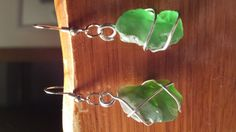 Hey, I found this really awesome Etsy listing at https://www.etsy.com/listing/196798817/wire-wrapped-seaglass-earrings