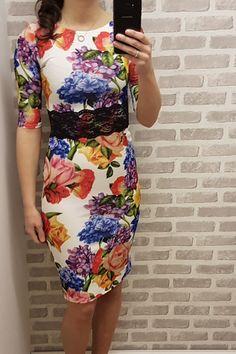 Missfiga - Nathalia Floral Lace Detail Bodycon, £21.95 (http://www.missfiga.com/nathalia-floral-lace-detail-bodycon/)
