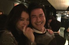 Kevin Cheng clears up dating rumors with Myolie Wu after the pair snuggled together at Myolie's 35th birthday.