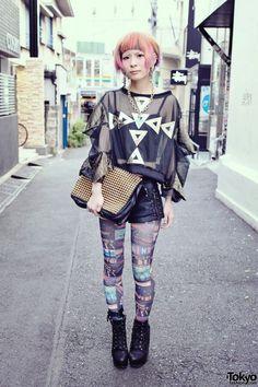 tokyo street fashion chic