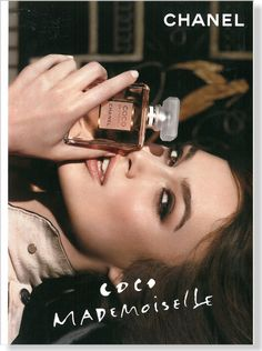 CHANEL Coco Mademoiselle ad featuring actress Keira Knightley