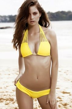 Hot New Yellow Color Bikini Set For Women Material: Polyester, Bra Style: Unlined, Support Type: Wire Free, Neckline: Spaghetti Straps, Pattern Type: Solid, Elasticity: Elastic, Waist: Natural, Color: Yellow, Package Contents: 1 x Bra 1 x Briefs #Swimwear #Bikinis #BikiniBody #Swimsuit #Fashion #FashionStyles #Woman'sFashion #BikinisForTeens #Bikinis2016 #SummerOutfits #SummerOutfitsWomen #SummerFashion #TwoPieceSwimwear #TwoPieceSwimsuits #TwoPieceSwimsuitsForTeens…