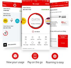 The My Vodafone App is free and simple to set up. Easy Access, Accounting, App, How To Plan, Apps, Beekeeping