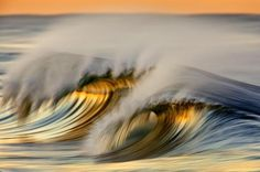 Colorful wave photos by California based photographer David Orias. Waves Photography, Nature Photography Tips, Stunning Photography, Smile And Wave, I Love The Beach, Sea Waves, Ocean Beach, Science And Nature, Colorful Pictures
