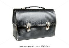 Dad's lunch box - mom would make him lunch everyday and he would forget it half the time!...