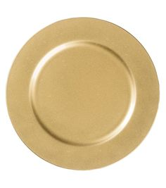 13'' Gold Charger Plate