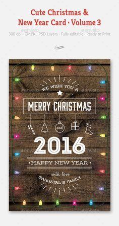 Helvetica Holiday Greeting Card Template From Inkd  Seasonal