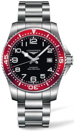 Longines HydroConquest Gents Large Automatic Uhren - L3.695.4.59.6 - uhrinstinkt.de