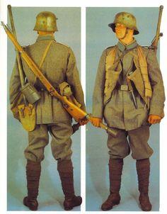 German Sturmtruppen Uniform.