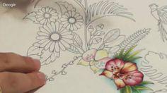 Pintando Orquídeas