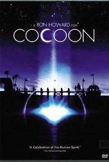 Cocoon (1985)  Feel good movie!  Wonderful cast.  Wilford Brimley, Jessica Tandy, Hume Cronyn, Don Ameche