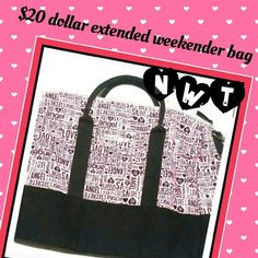 Victoria's secret Tote Carry all tote bag. Great for a weekend get away Bags Totes