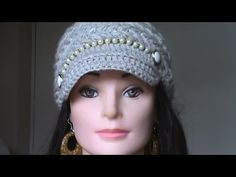 Gorro de ganchillo Tutorial / Crochet Hat Puff Stich (Subtitulado Español) English Subtitles. - YouTube