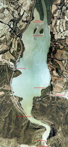 aparells deltaics i a formació de dues illes prodeltaiques a Panta de #Terradets #hidrogeologia