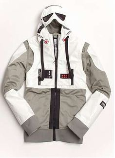 Sci-Fi Winter Wear - The Marc Ecko X Star Wars Jackets Keep You Warm While Looking Out-of-this-World (GALLERY)