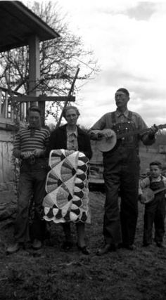 Bud McCoy and family. :: Jean Thomas, The Traipsin' Woman, Collection