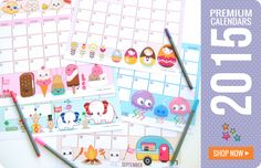 HelloCuteness.com - Adorable printable calendars (and other fun stuff)!