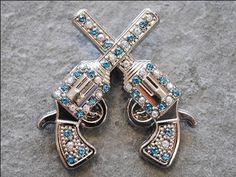 Cross Gun Shooting Turquoise Rhinestone Crystal Concho Headstall Tack by HILASON, http://www.amazon.com/dp/B00DIHL13C/ref=cm_sw_r_pi_dp_.Pbisb0XFB7C2