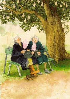 idei mesaje pensionare - Căutare Google Cute Images, Cute Pictures, Old People Love, Wild Creatures, Antique Illustration, Whimsical Art, Beautiful Paintings, Old Women, Pottery Art