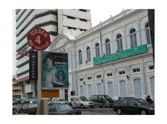 Penang colonial building, now a bank