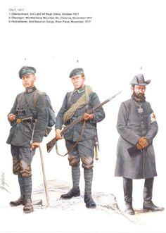 DEUTSCHES HEER - Italia, 1917