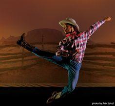 """Ovation featuring Agnes de Mille's """"Rodeo"""" April 11-13, 2014"""