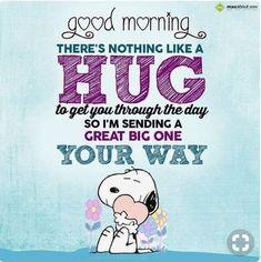 Good Morning Hug, Funny Good Morning Quotes, Morning Greetings Quotes, Good Morning Messages, Good Morning Wishes, Morning Sayings, Morning Handsome, Morning Images, Good Morning Minions