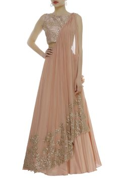 Buy Cutdana Hand Embroidered Lehenga Set by Shruti Ranka at Aza Fashions Designer Party Wear Dresses, Indian Designer Outfits, Indian Wedding Outfits, Bridal Outfits, Indian Outfits, Wedding Dresses, Velvet Dress Designs, Fancy Blouse Designs, Lehenga Designs