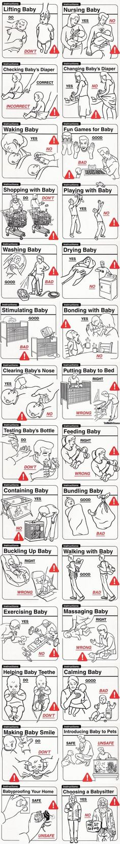 Baby Instructions 101
