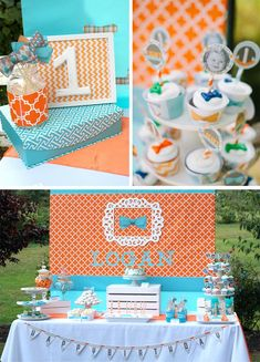 Modern Little Man 1st Birthday Party with Lots of REALLY CUTE Ideas via Kara's Party Ideas | KarasPartyIdeas.com #LittleManParty #PartyIdeas