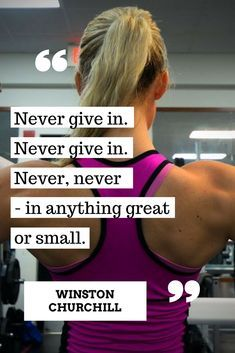 Never give in! #inspiration
