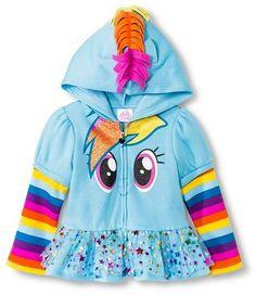 Disney Toddler Girls' My Little Pony Sweatshirt - Blue
