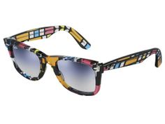 Two of my favorite things combined, Mondrian and RayBan Wayfarer sunglasses.
