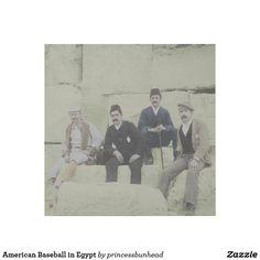 American Baseball in Egypt