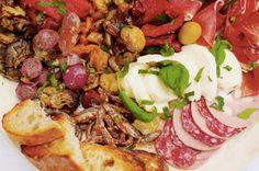 Italian Antipasto Recipe via Food Republic Photo: David Loftus Antipasto Recipes, Kebab Recipes, Salmon Recipes, Italian Deli, Italian Chef, Italian Recipes, Italian Party, Italian Appetizers, Italian Antipasto
