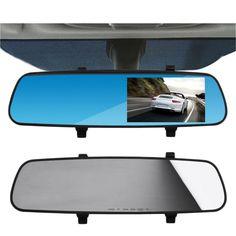 "Full HD 1080P 2.8"" Car Rearview Mirrors Tachograph DVR Digital Car Camera Drop Shipping Wholesale - Car Toys Store | Accessories, Car Camera, Car Video Players, Audio, Car DVRs"