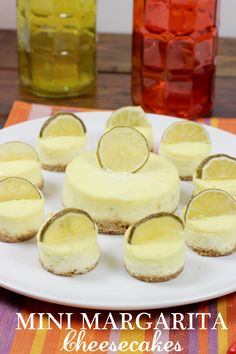 What better way to celebrate Cinco de Mayo than with these Mini Margarita Cheesecakes?