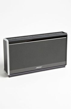 Sounds like a great gift! Bose Mobile Speaker http://outdoorbluetoothspeakers.com/bluetooth-speakers/whats-the-best-portable-bluetooth-speakers/