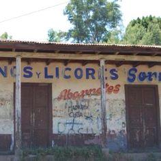 Antiguo almacen de Lonquen